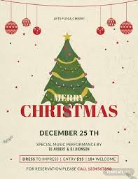 Christmas Flyer Templates 31 Free Christmas Flyer Templates Word Psd Indesign