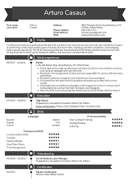 Resume Examples By Real People Barber Resume Sample Kickresume