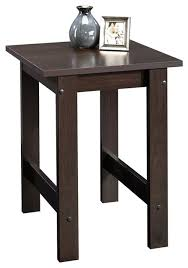 sauder beginnings end table in cinnamon cherry finish transitional side tables and end tables by homesquare