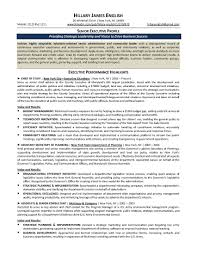 Educationaldership Resume Samples Examples Organizational Sample ...