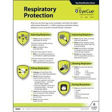 Eyecue Respiratory Protection Laminated Poster