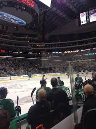 Dallas Stars Hockey Game At American Airlines Center In