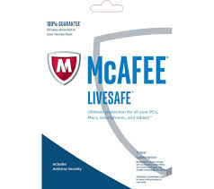mcafee livesafe unlimited 2017 1 year for unlimited devices