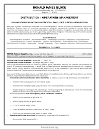 Resume Distribution Valuable Warehouse And Distribution Manager Resume Distribution 10