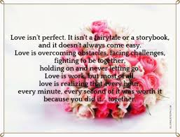 Love Isnt Perfect Silver Quotes