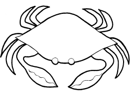 Small Picture Adult simple coloring pages Crab Coloring Pages Free Printable