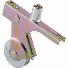 steel sliding screen door rollers 2 pack