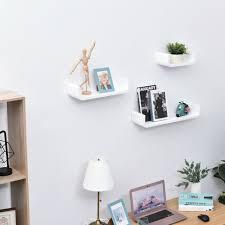 wall shelf shelves white display set