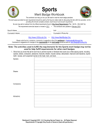 Guide To Safe Scouting Chart Sports Us Scouting Service Project