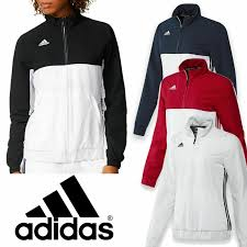Light Blue Adidas Tracksuit Womens Details About Adidas Womens T16 Team Wear Full Zip Tracksuit Jacket Black Red Blue White Top
