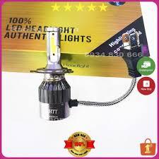 Đèn Led Xe Máy VNRACING Đèn Pha Trợ Sáng ✨ Tăng Sáng ✨ Chân H4 (Giá 1 bóng)  NPP ĐÈN LED - Hàng Chất Lượng