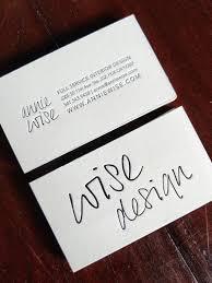 Letter Press Business Card Custom Letterpress Business Cards