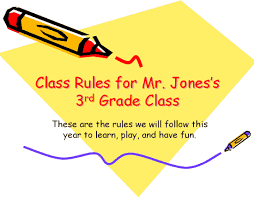 classroom rules template elementary classroom rules presentation office templates