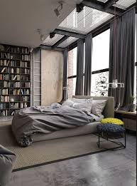 In cities where housing space is at a premium, the conversion of industrial  spaces into. Industrial Style BedroomIndustrial CurtainsIndustrial ...