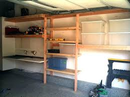 full image for dyi garage shelving building storage shelves wood diy poject ideasgarage wall ideas uk