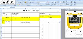 Yamazumi Chart Excel Download Tools For Lean Manufacturing Toyota Production System