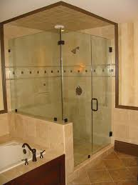 heavy frameless shower enclosure raleigh
