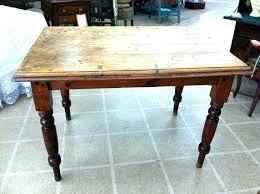 table white legs wooden top harvest dining room tables medium size of kitchen table cool black