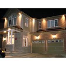 Exterior Recessed Soffit Lighting Source Black Pvc Ip44 Outdoor Spotlight Led Soffit Light