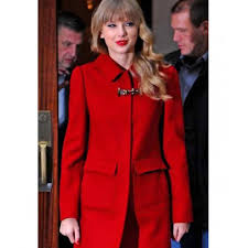 new york city hotel red bright taylor swift jacket