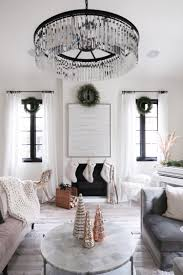 Keep the colors cohesive because you are working in a small space and too much color that doesn't go together is just well, too much. Christmas Living Room Decor Ideas Jessi Malay