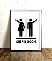 Printable bathroom sign Clip Art Bathroom Signs Decor Funny Bathroom Signs Printable Art Selfie Room Wall Decor Restaurant Kids Free Bathroom Society6 Bathroom Signs Decor Djsandmcsclub