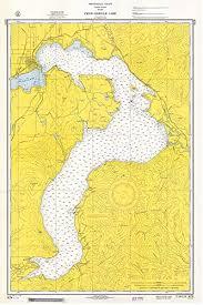 Amazon Com Pend Oreille Lake 1965 Idaho Inland Lakes