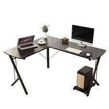 l shaped desk for office. Interesting Desk Soges 56u0026quot Lshaped Desk Computer Corner Office Desk Black WK In L Shaped For