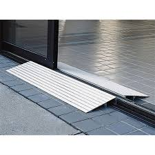 ez access transitions aluminum modular threshold ramp