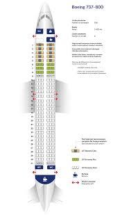boeing 737 800 seat plan