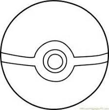 Pokemon Ball Coloring Page Arenda Stroy
