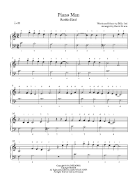 All the pretty little horses amazing grace. Piano Man By Billy Joel Piano Sheet Music Rookie Level Piano Sheet Music Piano Sheet Piano Music