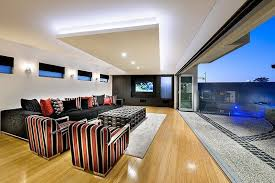 contemporary lounge lighting. living room with a wall of sliding doors contemporary lounge lighting h
