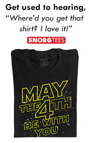May The 4th Be With You T-Shirt ...