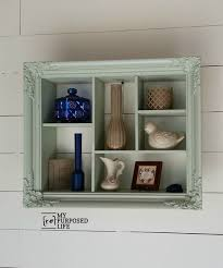 amazing shadow box with shelf 12 best display unit idea image on shelving picture frame