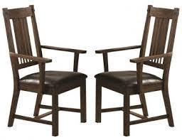 coaster padima arm chair in rustic cognac set of 2 105703