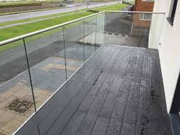 infinity glass balcony infinity glass balcony barades with handrail blackpool