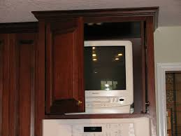 Tv In Kitchen Kitchens Foley Custom Cabinets