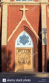 Decorating trinity doors pics : Alpha and Omega doors on the Holy Trinity Catholic Church in ...