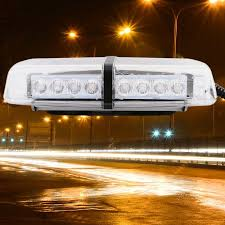 Strobe Light Walmart Amazing 32 LED Warning Emergency Hazard Rooftop Flash Strobe Light Bar Amber