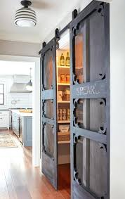 kitchen barn doors awesome sliding door ideas for the home farmhouse pantry
