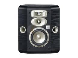 jbl studio l series l810bk 3 way bookshelf wall mount satellite speaker single