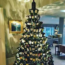 How To Decorate A Wine Bottle For Christmas Wine Bottle Christmas Trees POPSUGAR Australia Smart Living 97