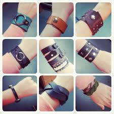 we are super pleased to share this collection of bracelets made by our students at chicago