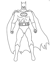 Batman Coloring Pages - Printable Coloring Image
