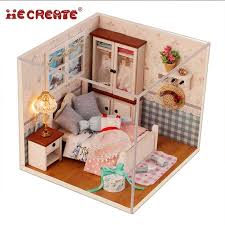 diy miniature dollhouse kit