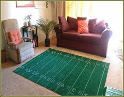 popular of football field football field area rug 2018 grey area rug