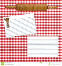 Recipe Page Layout Recipe Layout Page Stock Image Image Of Page Utensils 861761