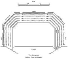 The Pageant Seating Chart