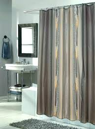 84 long shower curtain architecture hotel collection colonnade inch white ruffle